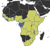 Megaponera_Distribution_Africa